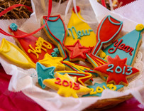 House New Years Eve Sugar Cut-Out Collection