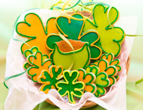 House St Patty's Day Sugar Cut-out Collection (12 Hand Decorated Cut Outs)