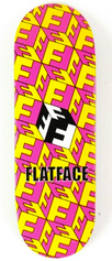 Berlinwood - FlatFace Cubes Yellow/Pink - Wide