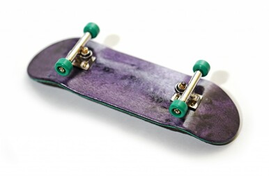 BRR Trucks 32mm Wide On a FlatFace G14 Deck with FlatFace Green BRR Edition Wheels.
