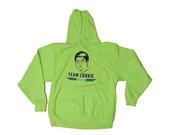 Team Cookie Neon Green Hoody - Large
