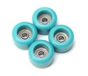FlatFace BRR Edition Bearing Wheels - Turquoise
