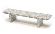 Flatface Grey Granite Bench