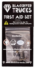 +blackriver+ First Aid Single Baseplate Black