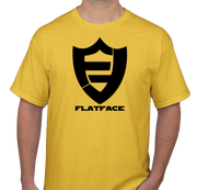 FlatFace Yellow Logo Shirt - XL