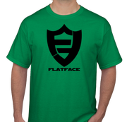 FlatFace Green Logo Shirt - Medium