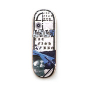 Catfishbbq Deck - Saltwater - Evolution Revolution Blue - Embossed