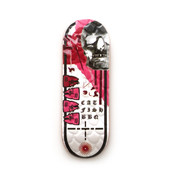 Catfishbbq Deck - Saltwater - Evolution Revolution Red - Embossed