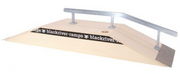 +blackriver-ramps+ Funbox with Kink Rail
