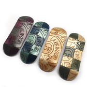 Devise Deck - Lakewood Collab Split Ply Engraved - 33mm Regular Shape