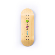 Unique Deck - 34mm Juvie - The Love Equation Transparent