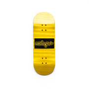 Unique Deck - 34mm Juvie - Black Script Block