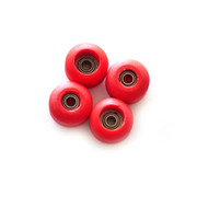 FlatFace Red Wheels - Street Shape BRR Edition