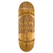 Berlinwood - Bamboo Dark Engraved - 33mm