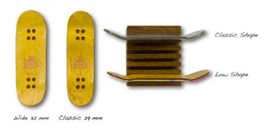 Berlinwood shapes and sizes