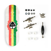 Berlinwood Complete - Rasta Rally - 32mm Wide Low Concave - Bollie Setup