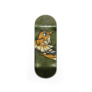 Devise Deck - Alex Garcia Hummingbird - Green - 34mm Revised Shape