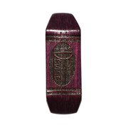 Devise Deck - Crayon - 33mm Regular - Purple Engraved