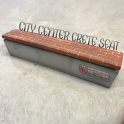 Brooskie Builds - City Center Crete Seat