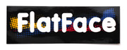 FlatFace Spot Color Sticker