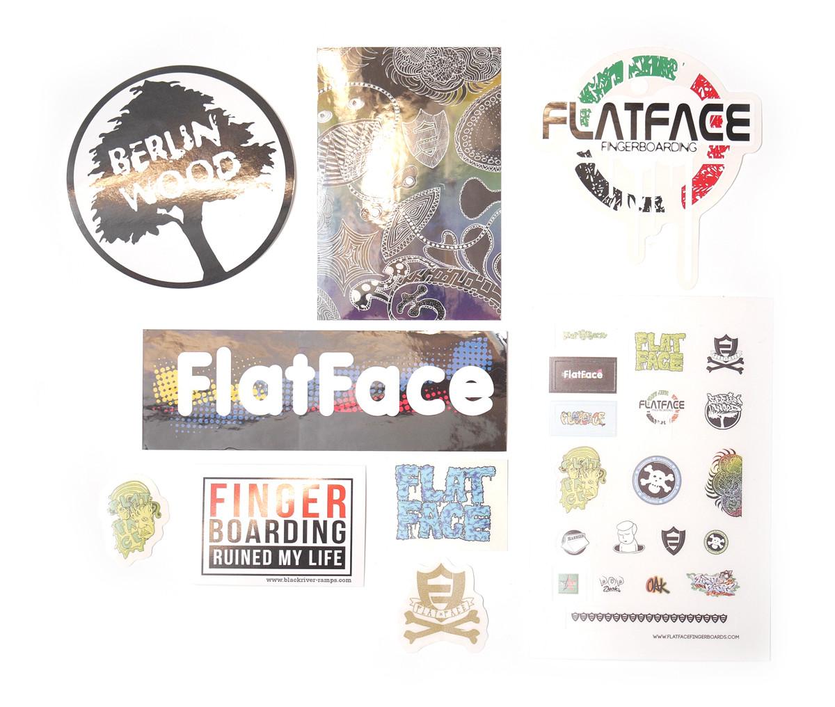 FlatFace Random Sticker Package