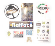 FlatFace Random Sticker Package