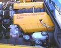 C6 LS2 Corvette Color Coded Fuel Rail Covers