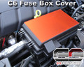 2005-2013 C6 Corvette Fuse Box Cover, Cover. (Does not replace factory fuse cover)