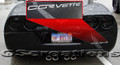 C6 Corvette Rear Bumper letter kit