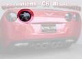 C6 & Z06 Corvette Rear Blackout Kit (1 piece)