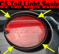 C5 Corvette Tail light Seal Kit