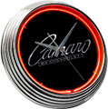 Neon Clock (Camaro)(Classic Script Logo)