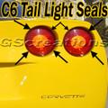 C6 Corvette Tail light Seal / Seals Kit