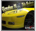 C6 Corvette Clear Side Markers (Front)