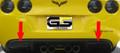 C6 Corvette Acrylic Reverse Light Blackout Kit