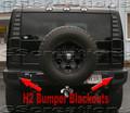H2 Hummer Bumper Blackout Kit