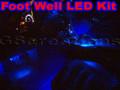 C6 Corvette Foot Well LED Lights