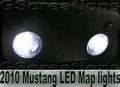 2005 - 2010 Mustang Map Dome LED Light Lights V8 V6 GT