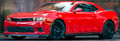 2010-2015 Camaro Side Marker Blackout Kit