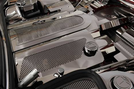 C5 Perforated Stainless Replacement Fuel Rail Covers