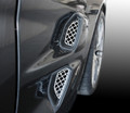 C6 ZR1 CORVETTE 4pc FRONT STAINLESS SIDE VENTS