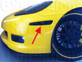 C6 Corvette Smoked Side Markers (Front)