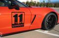 C6 Corvette Z06 Carbon Edition Decal Kit