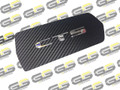 Carbon Fiber Cadillac CTS & CTS-V Coupe Cup Holder Cover WITH Embedded CTS Emblem