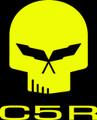 C5 Corvette Jake Racing Skull Vinyl Decal Stickers