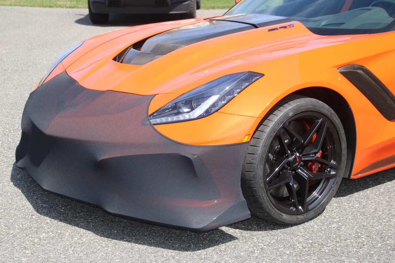 C7 Corvette NoviStretch Front Bumper Mask (Stingray, Z06, Grand Sport, ZR1)