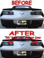 C7 Stingray Corvette SMOKED Blackout 5th Brake Light Cover W/ Z51 Spoiler