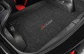 2015+ CORVETTE C7 STINGRAY LLOYDS JET BLACK CARGO MAT W/ SILVER & RED Z06 LOGO