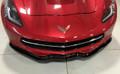 C7 Corvette REAL Carbon Fiber Front Splitter - Z06 Style