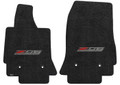 2014-2019 Corvette C7 Black Lloyds Front Floor Mats w/ Z06 Supercharged Logo